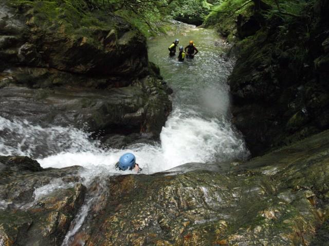 Actividad de turismo activo: Barranquismo en Asturias