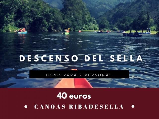 Bono para el Descenso del Sella en canoa