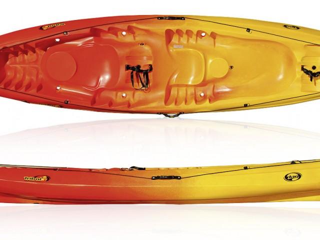 Kayak modelo Tribal de Rotomod. A la venta a partir de Octubre