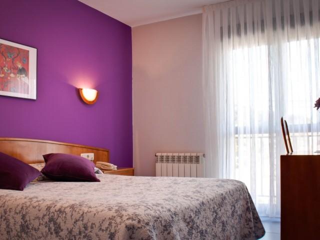 Una de las habitaciones cuya decoración ya inspira relajación
