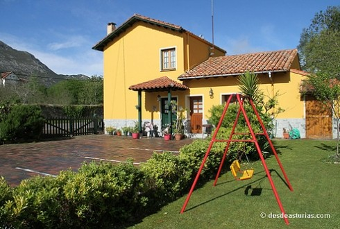 En esta casita rural podrás disfrutar de la tranquilidad junto a tu familia o amigos